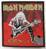 Iron Maiden - 'Fear of the Dark Live' Woven Patch